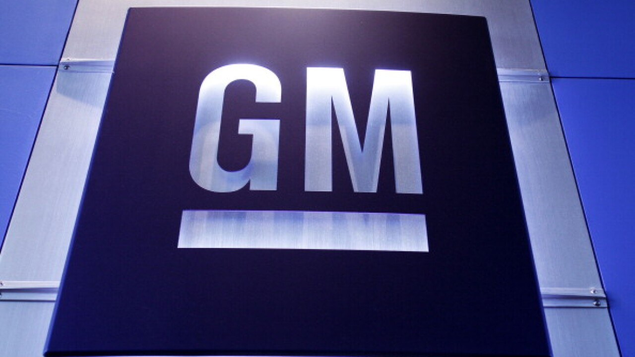 GM logo, General Motors