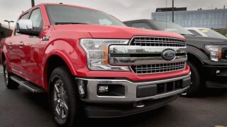 Ford is recalling thousands of F-150 pickup trucks for a problem with the headlights