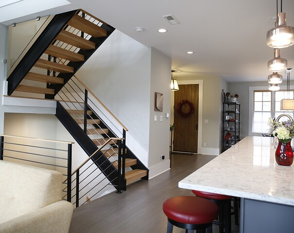 Home Tour: These identical Pendleton St. row houses are not so identical on the inside