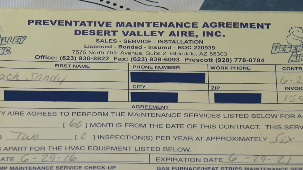 KNXV Desert Valley Aire Preventative Service
