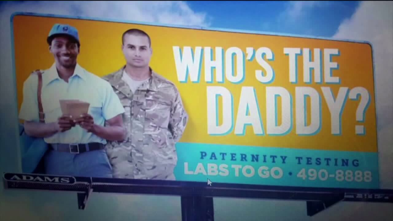 'Who's the daddy?' Billboards for paternity testing cause stir in military community