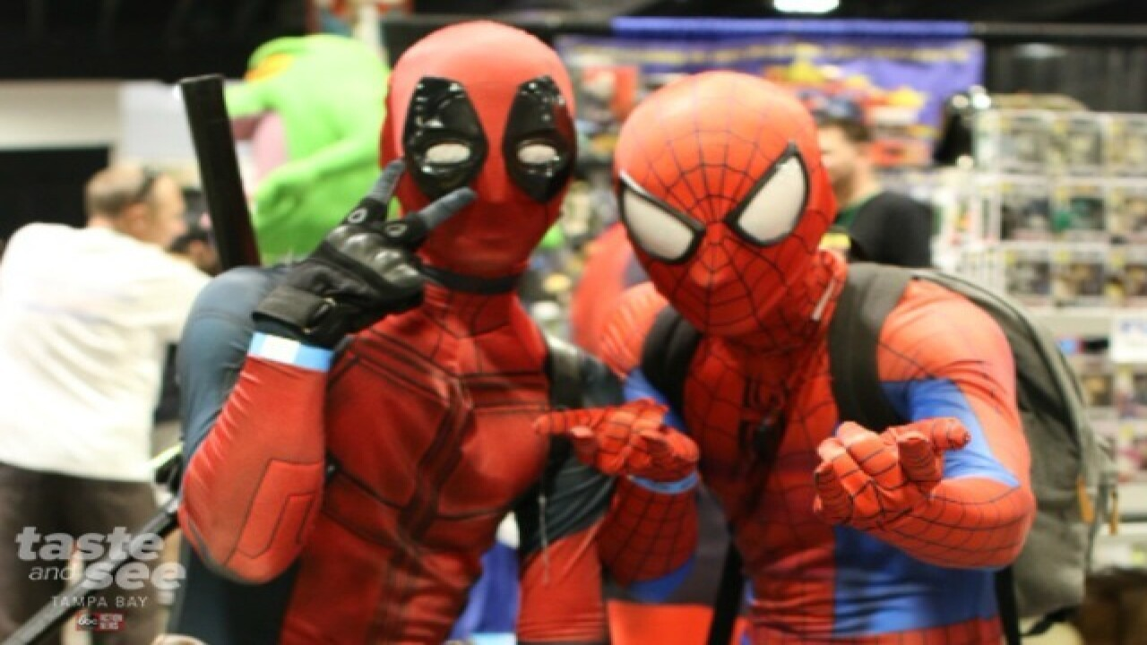Tampa Bay Comic Con opens for the weekend