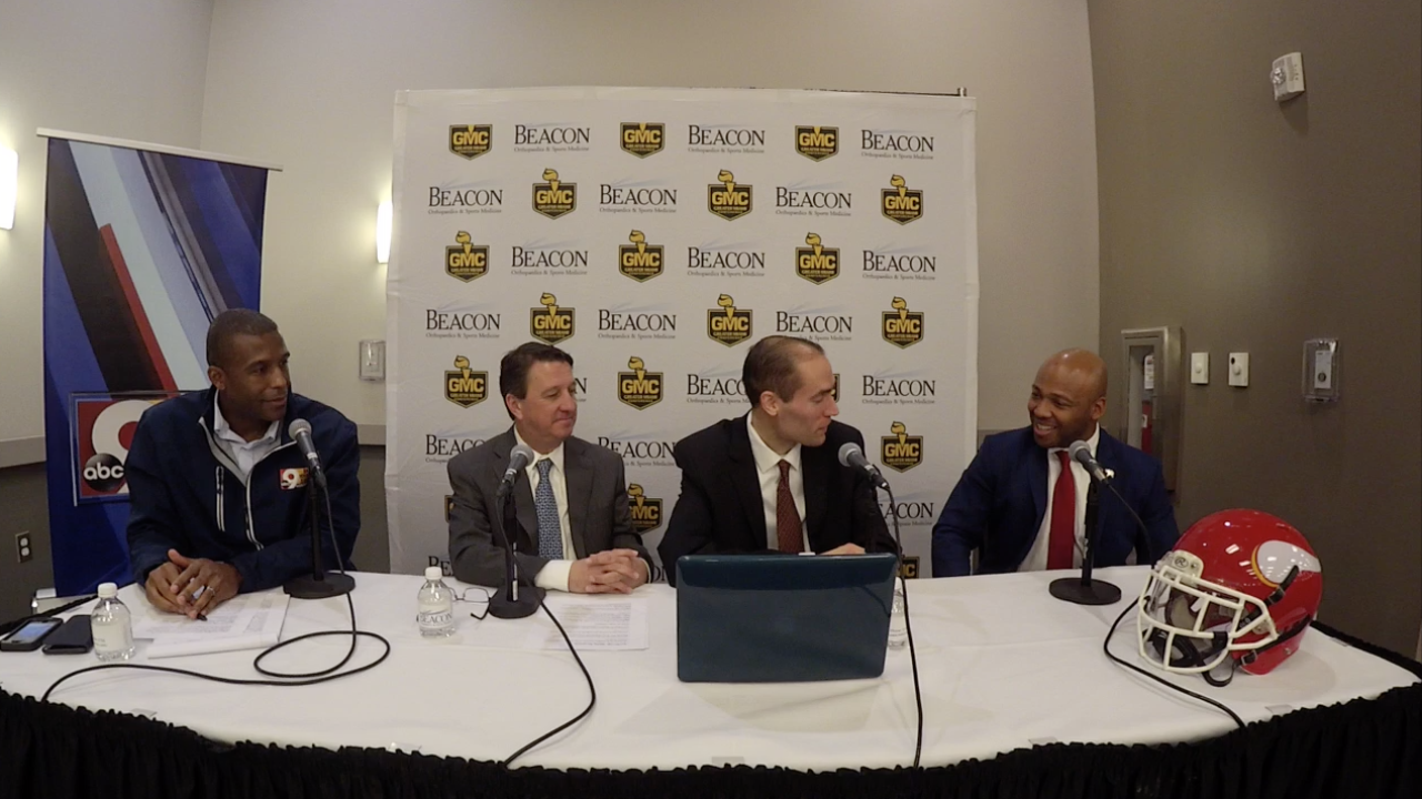 WCPO High School Insider podcast live at the annual Greater Miami Conference football ceremony