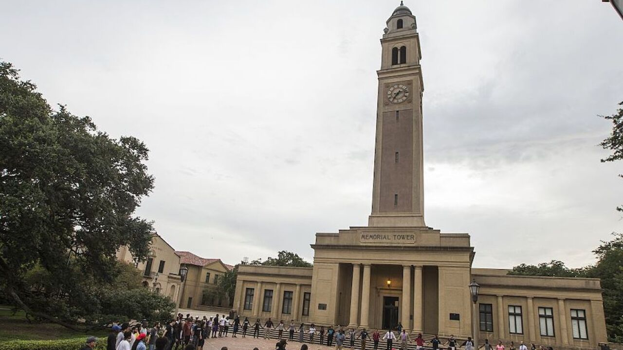 LSU placed on lockdown due to 'armed intruder' on campus, no injuries reported