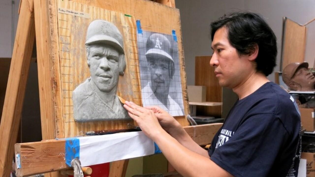HoF plaque sculptor awaits Junior's reaction