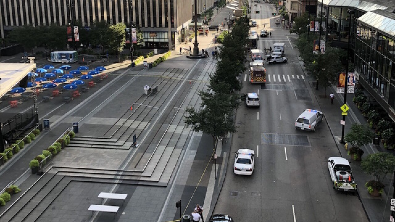 Active shooter reported in downtown Cincinnati