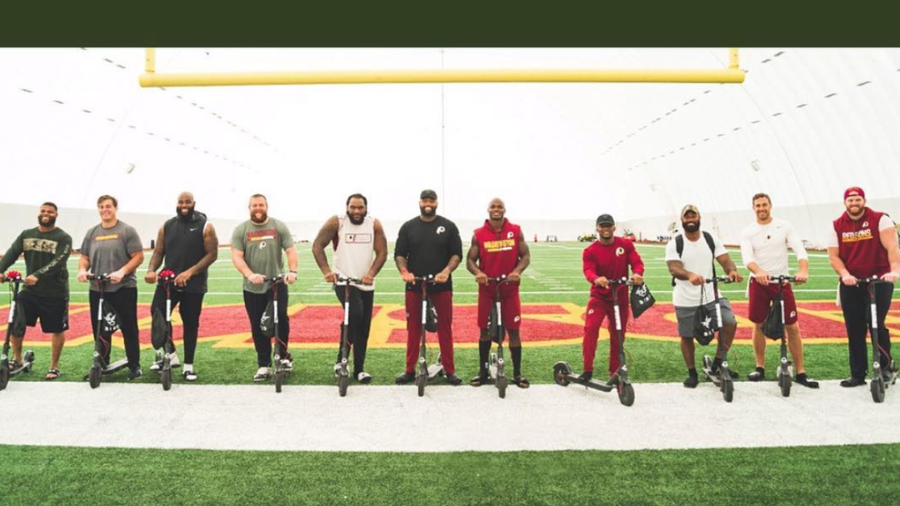 'Skins scoop: Redskins on scooters? A 'wheely' dangerousidea
