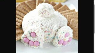 Bunny Butt Cheese Ball will be a big hit this Easter
