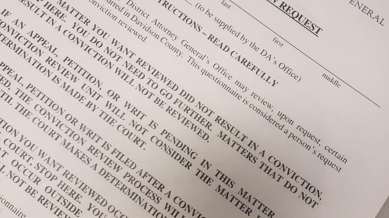 Conviction review request