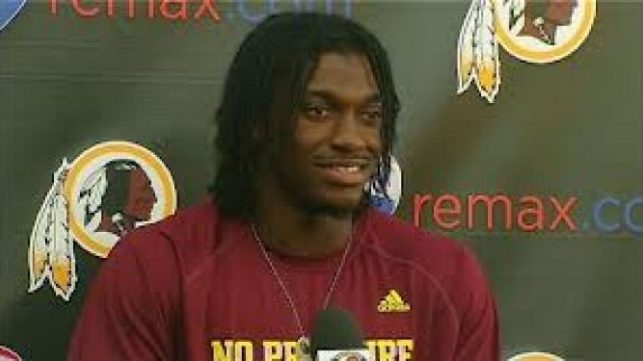 Robert Griffin III signs with Cleveland Browns