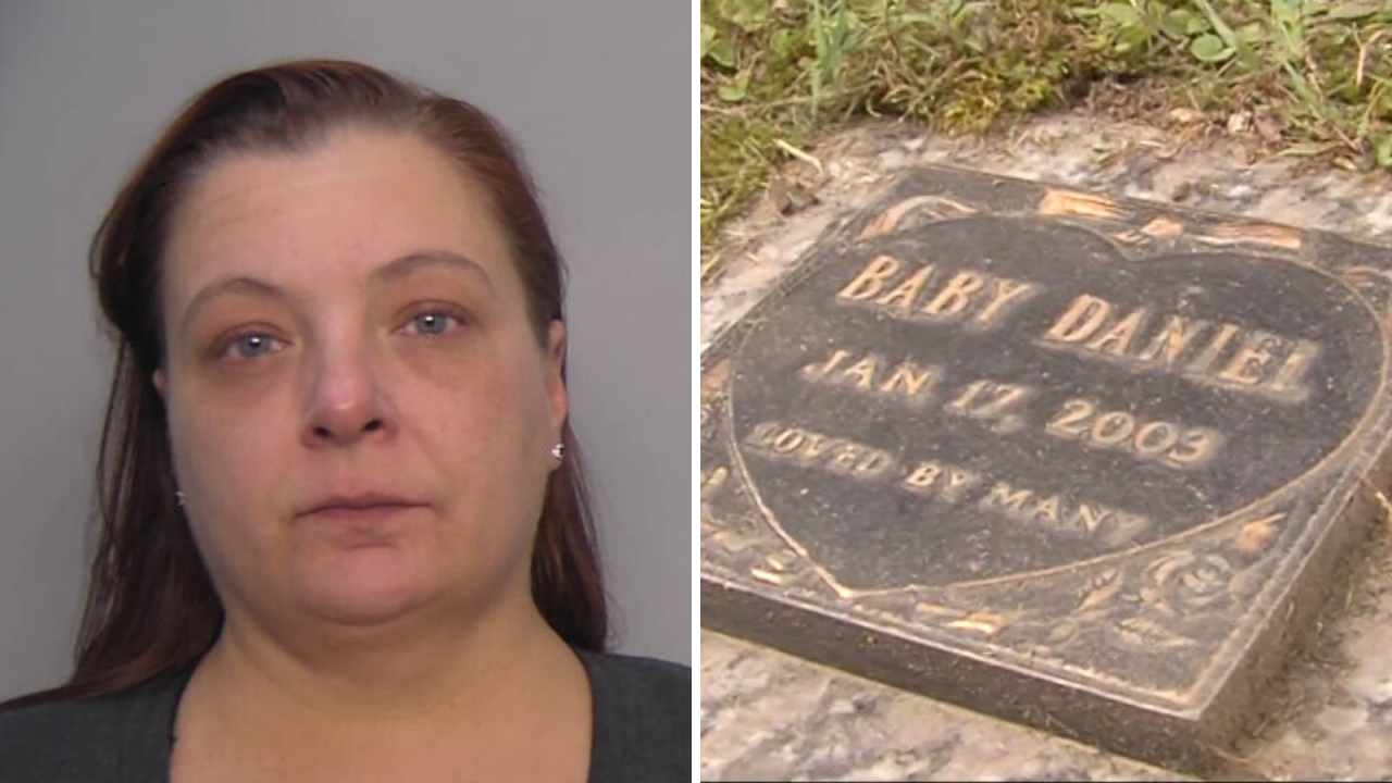 Woman arrested in connection with baby's 2003 homicide, Chesapeake Policesay