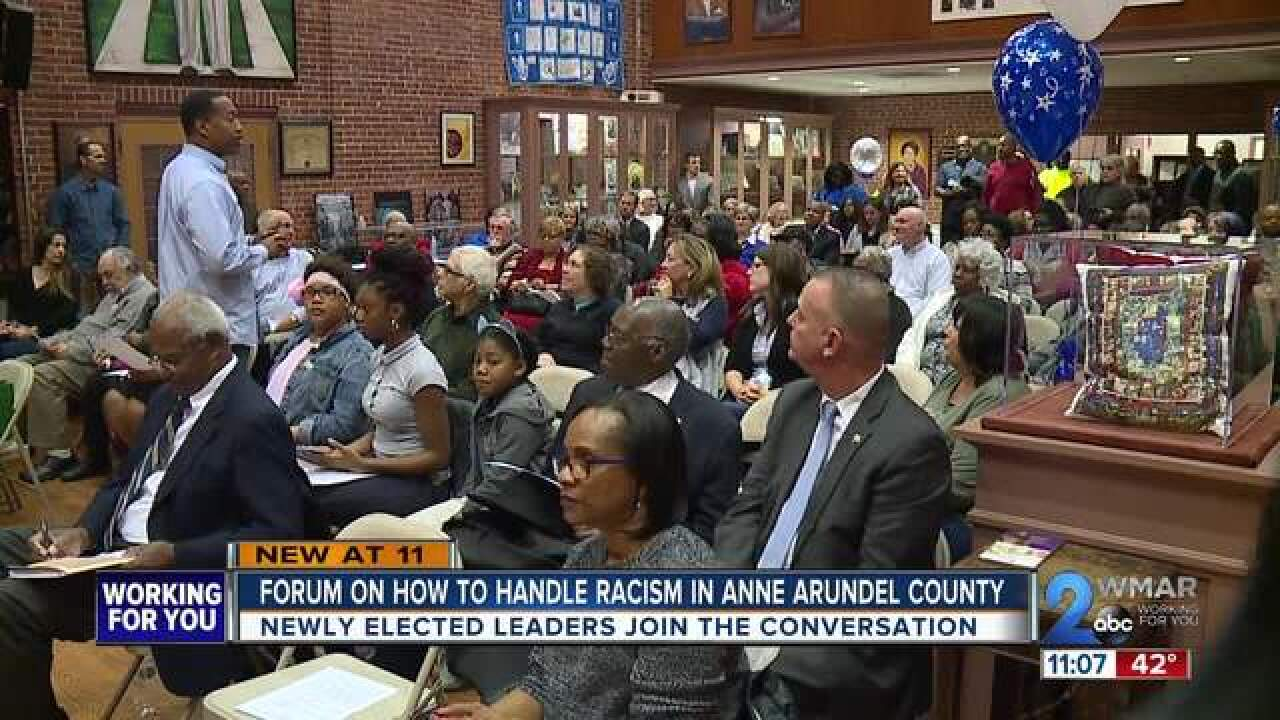Elected officials ask for solutions to racism