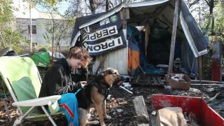 Akron homeless help