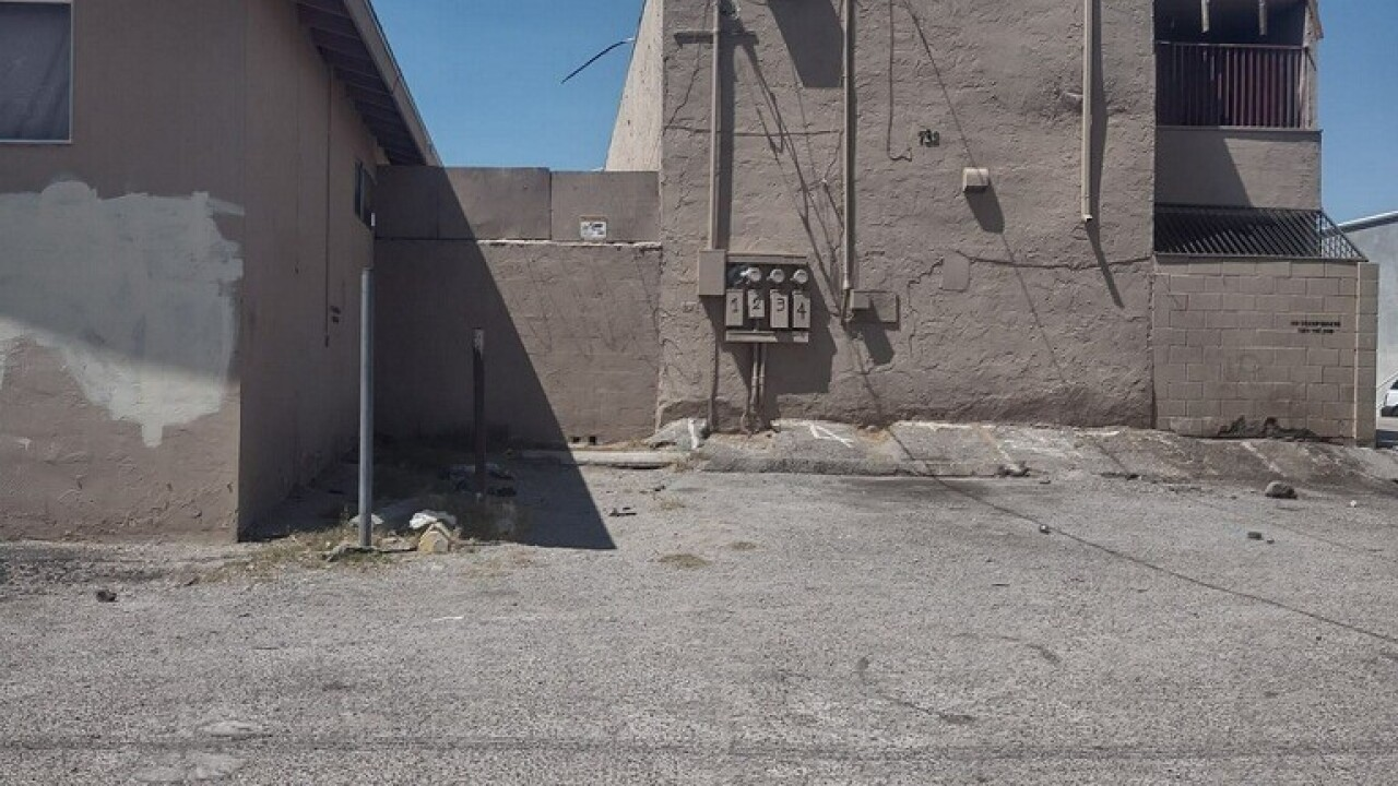Buildings owned by Frank Miao on 10th and 11th Streets