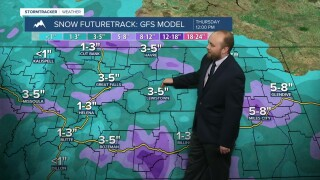 Second winter storm set to arrive Wednesday
