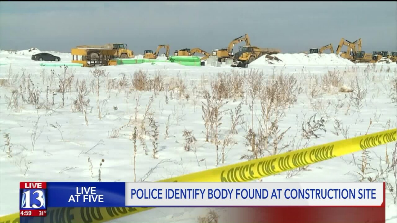 Body found in South Jordan field was suspect in Thanksgiving shooting, policesay