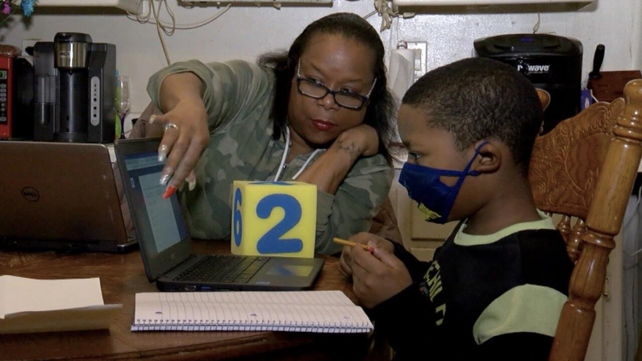 virtual school pandemic