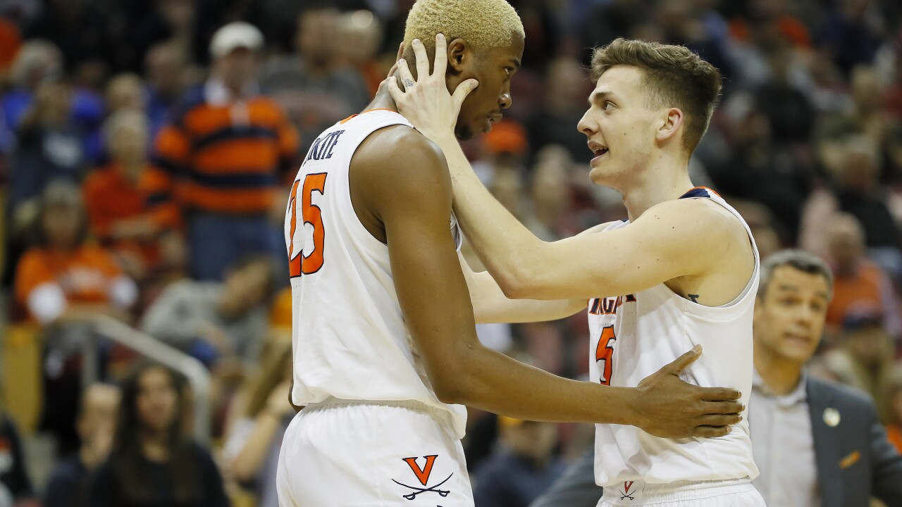 "Virginia focused on the ""big picture"" prior to Elite Eight date with Purdue"
