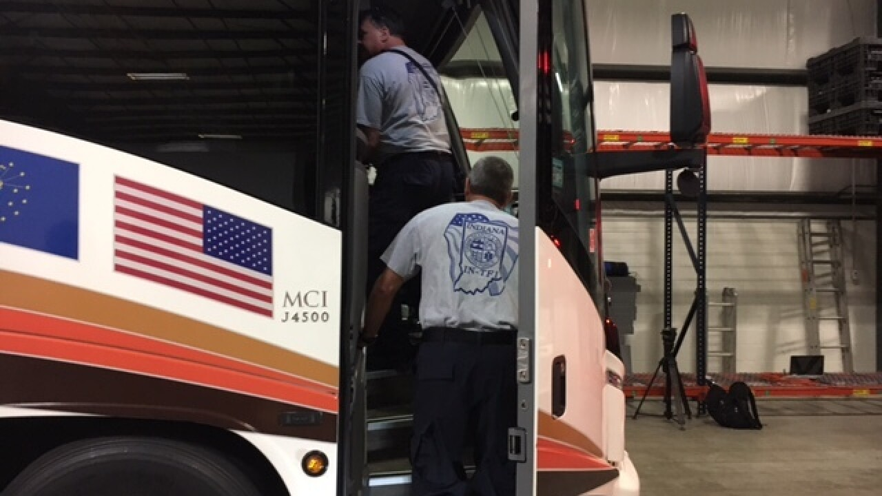 Ind. first responders headed to NC for hurricane