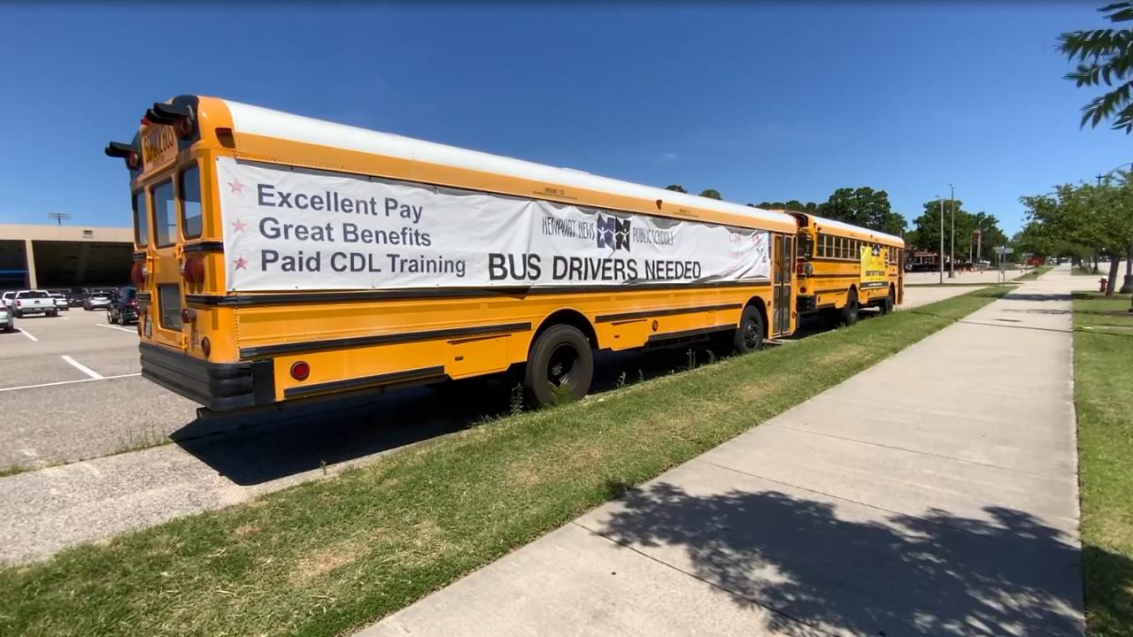 Newport News Public Schools bus driver shortage.PNG