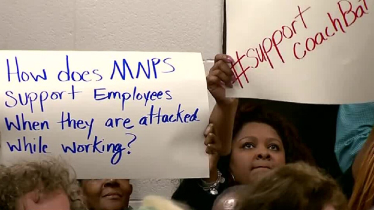 MNPS Parents, Students Demand Answers After Coach's Suspension