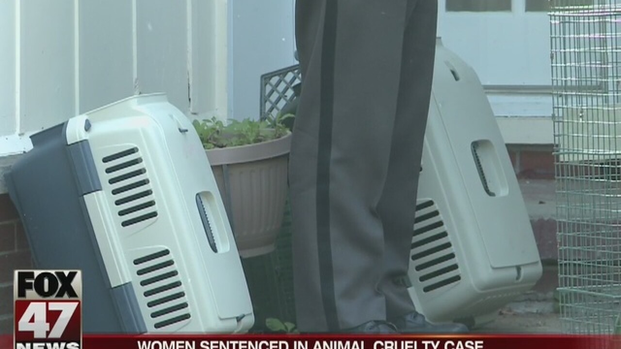 Woman, daughter sentenced for animal cruelty