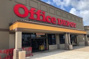 Office Depot break in