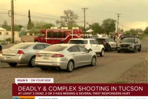 Multiple people shot, including ambulance crew, in Tucson