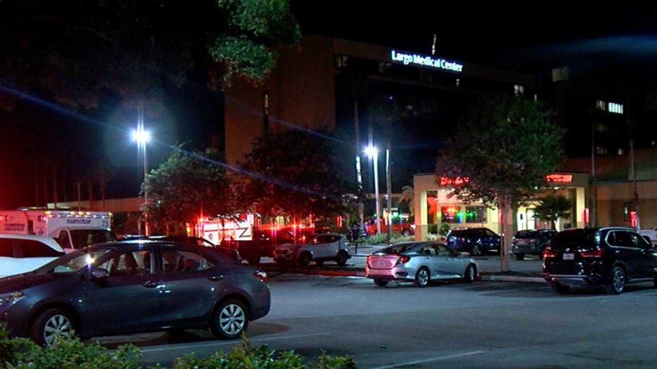 Largo Medical Center rooms evacuated