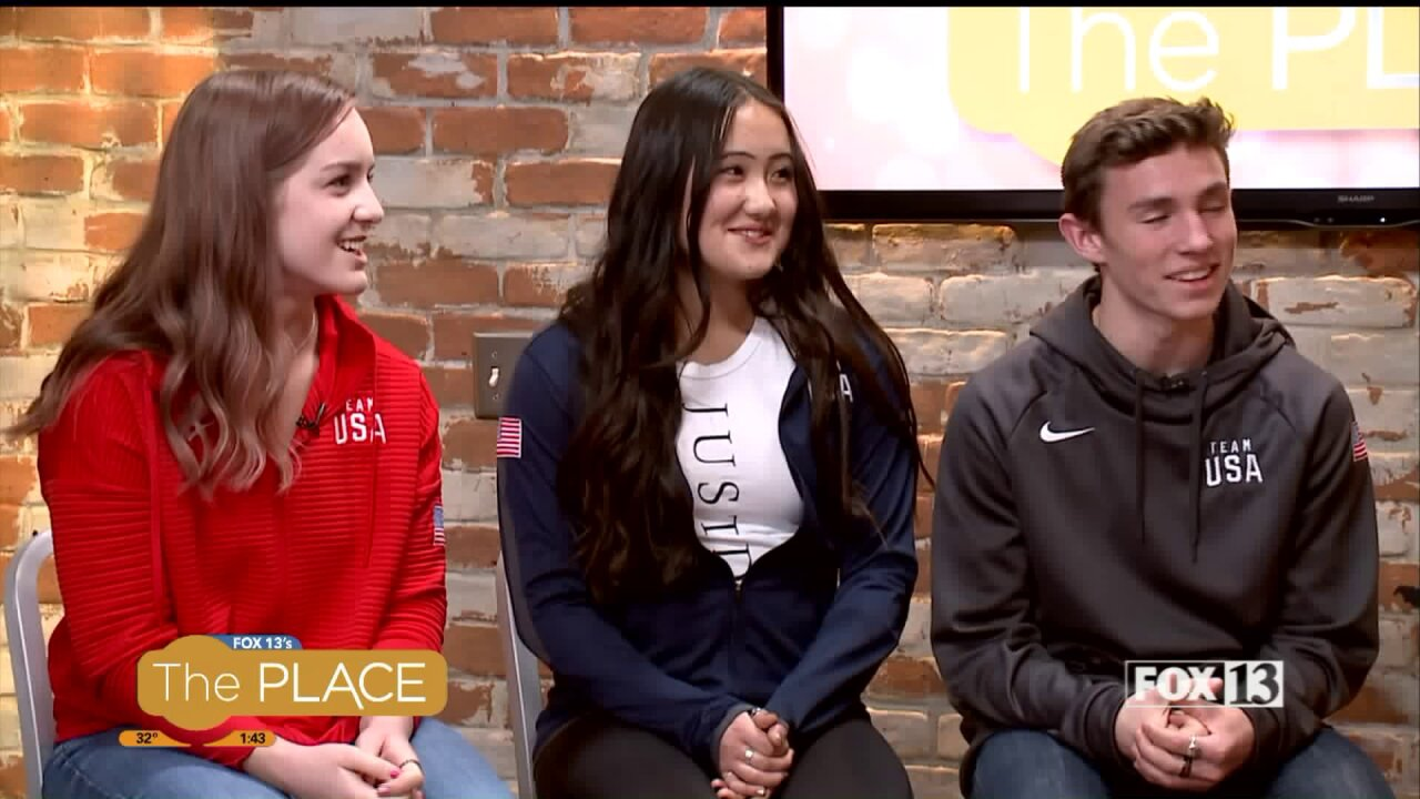 Utah teens are representing USA in Japan at World Championships