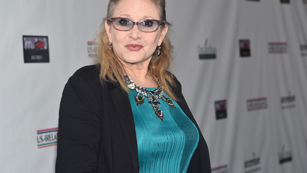 "Carrie Fisher of 'Star Wars"" dies at age 60"