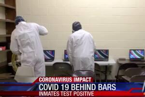 Inmates test positive at the McKinzie annex