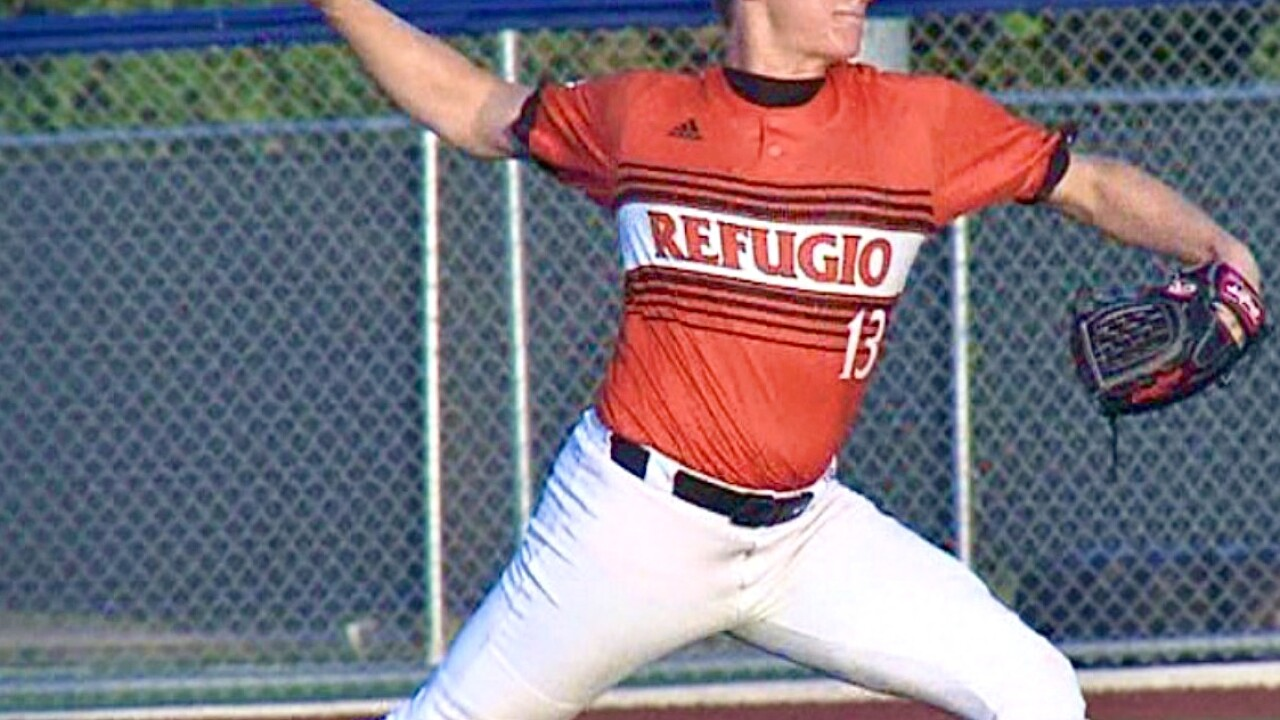 Refugio athlete wins National Gatorade Baseball Player of the Year award