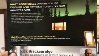 Libertarian endorses Rosendale in Senate race; cites 'dark money' mailer