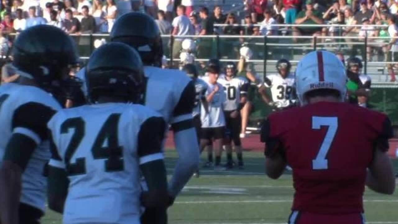 TONIGHT: High school football games