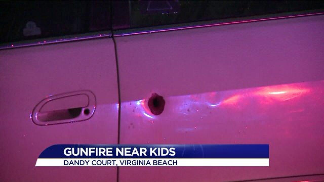 Police investigate shooting in VirginiaBeach