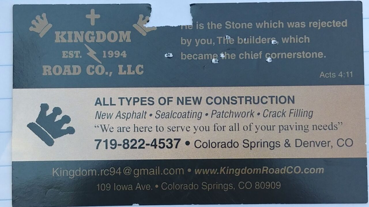 Kingdom Road Colorado, LLC