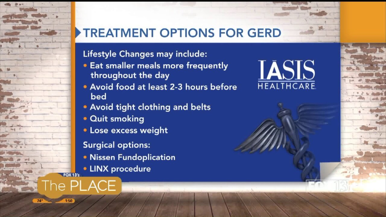 "IASIS Health Fix: Symptoms and Treatment for GERD ""Acid Reflux"""