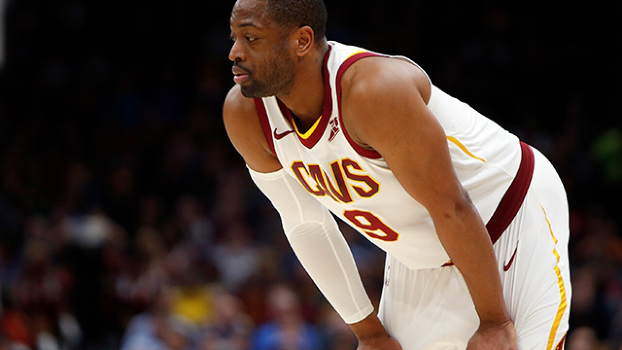 Dwyane Wade says players are at fault for losses: 'Nobody's coming to save us'