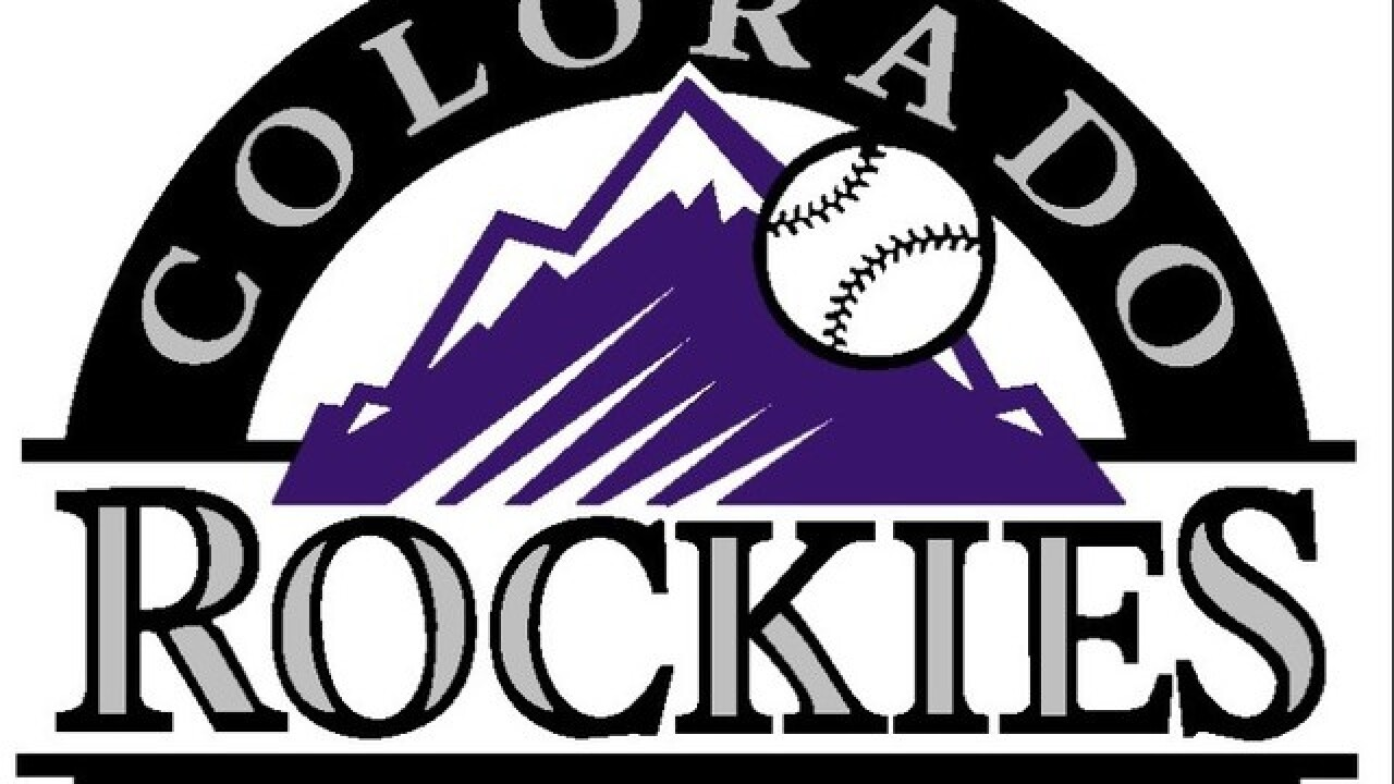 David Dahl hit a homer and also drove in the winning runs in the 9th as the Rockies beat the Braves