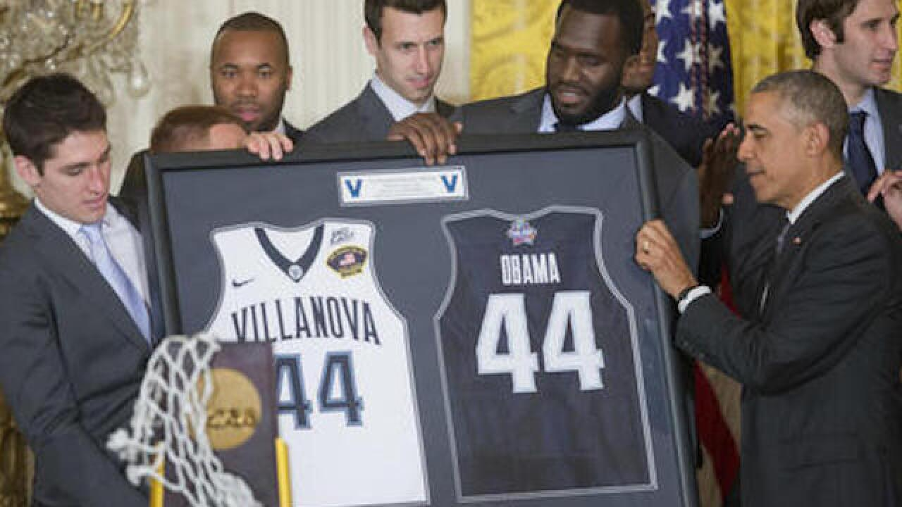 Villanova visits the White House