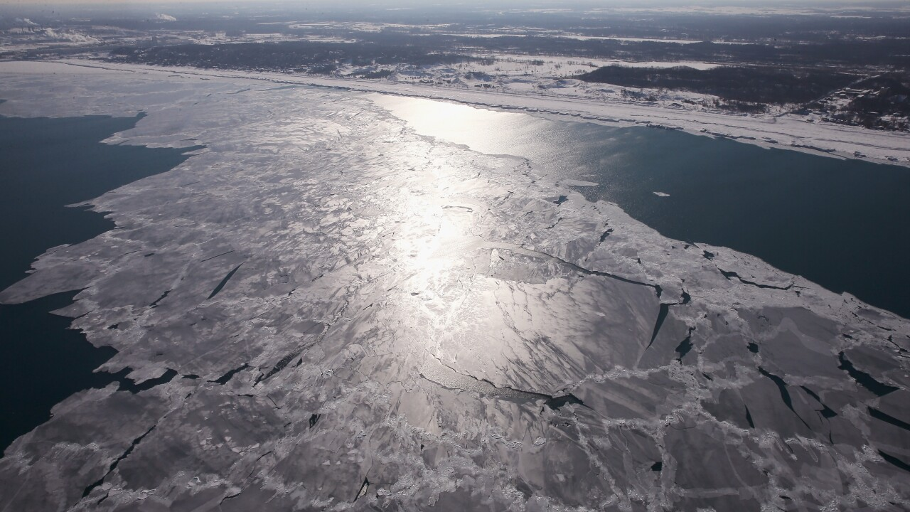 As Brutally Cold Winter Drags On, 80 Percent Of Lake Michigan Frozen