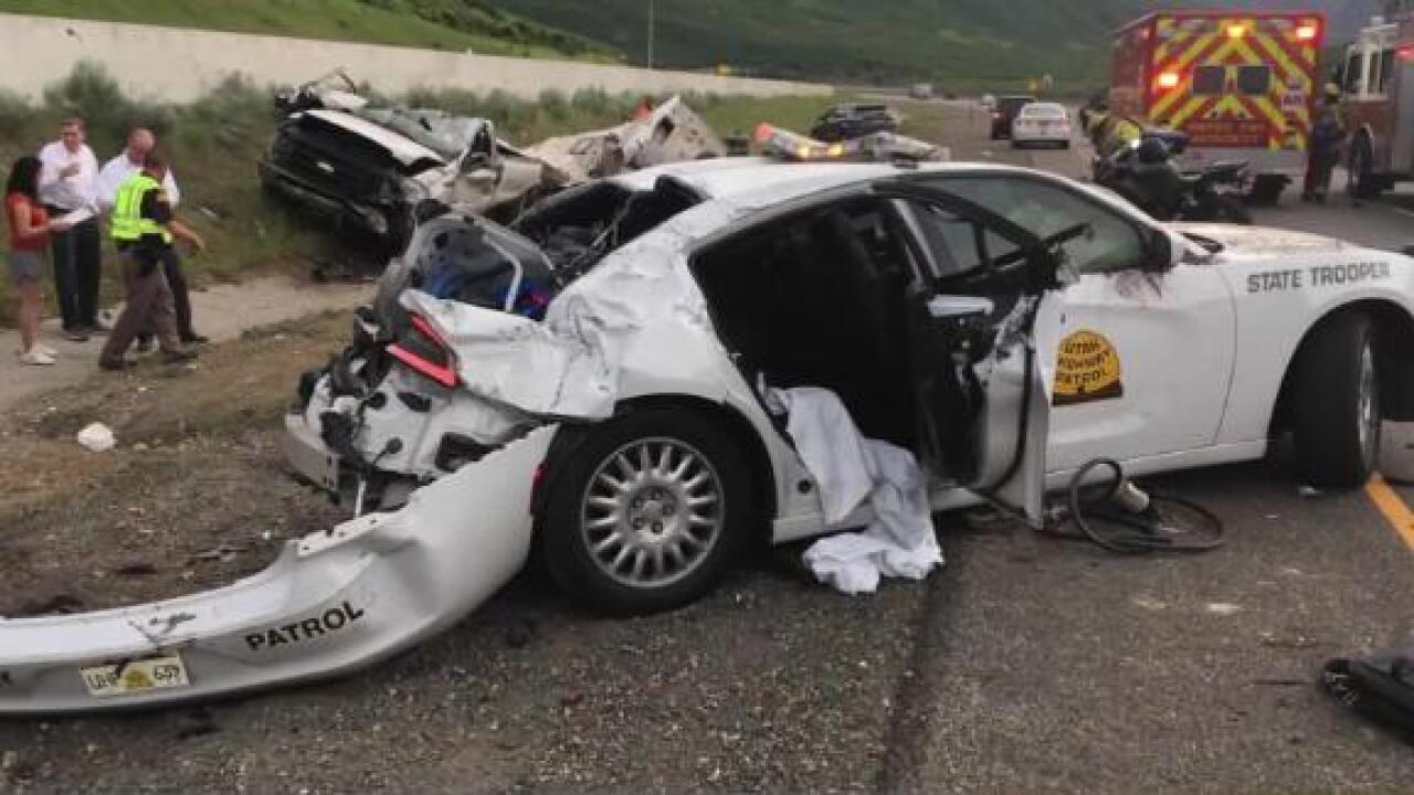Utah state trooper has near-death experience for the second time in six months