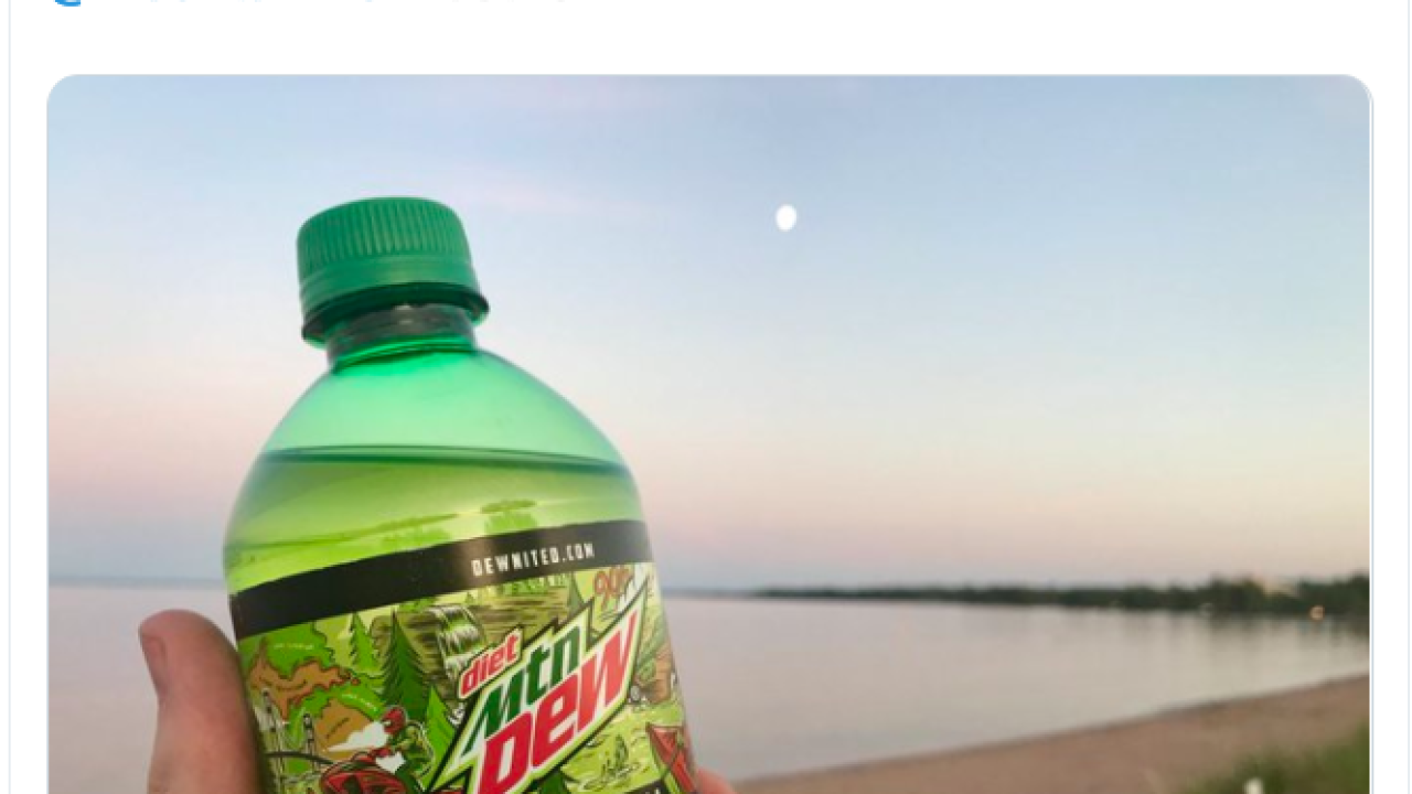Special edition UP label Mountain Dew revealed