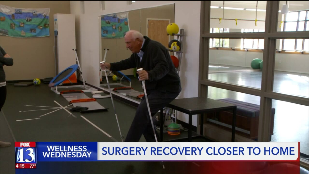 Wellness Wednesday: Benefits of surgery and recovery close to home