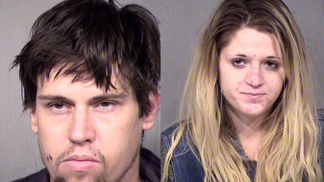 People accused of stealing X-mas decorations