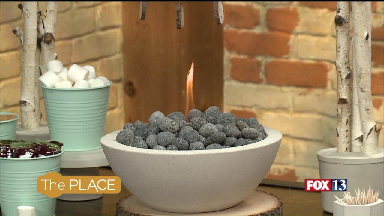 How to make a concrete fire bowl for s'moresroasting