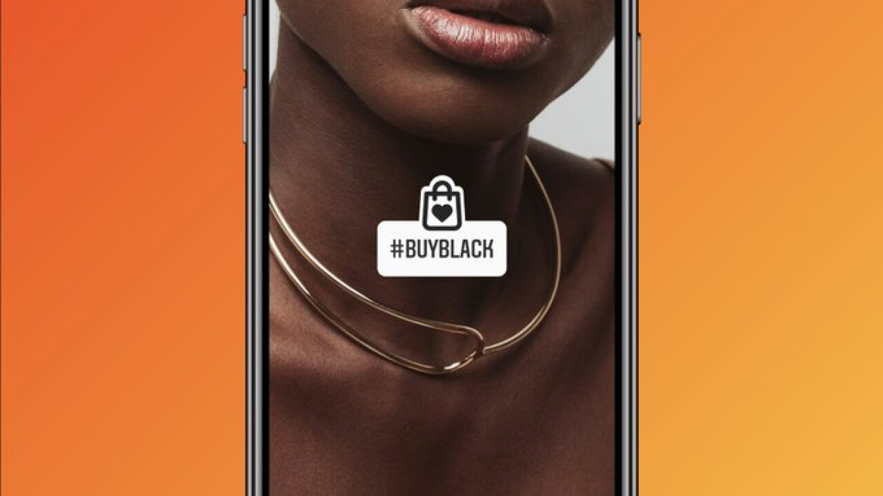 Instagram Buy Black