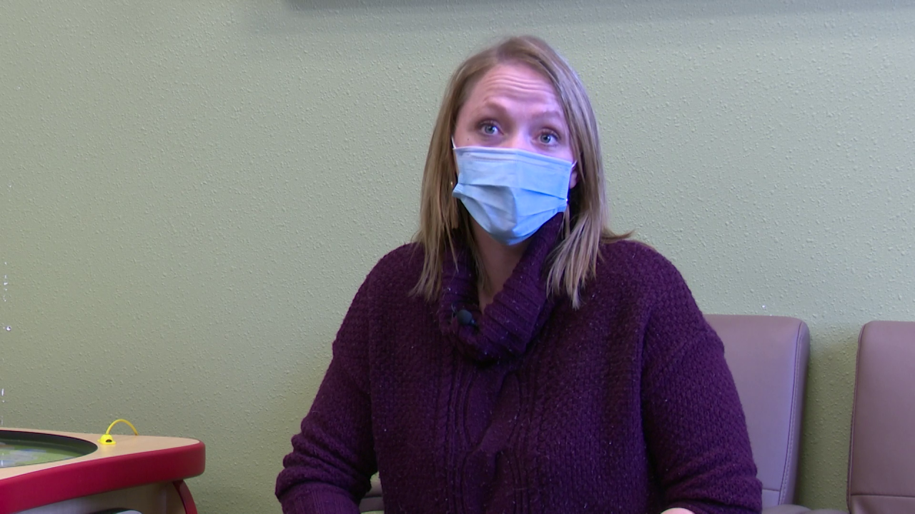 Randi Schlosser, a chronic disease specialist with the Pondera County Health Department