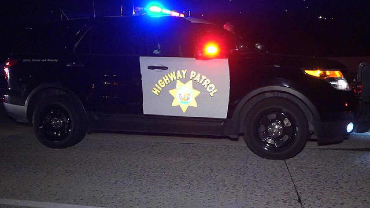 California Highway Patrol makes 66 DUI arrests during holiday maximum enforcement period